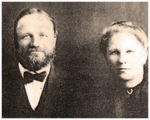 Valentine Reiber and wife Katherine Heizenreter