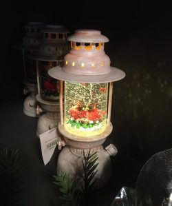 Snowglobe with Lighting and Birds