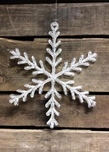 80932 650x650 Acrylic Snowflake