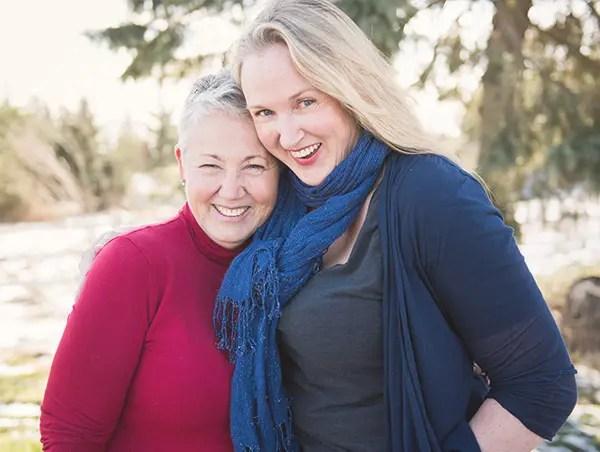 Judy and Jenny Campbell