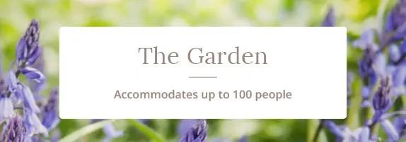 Campbells Gold - Wedding Venue - The Garden
