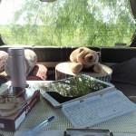 キャンピングカーを書斎代わりに!妻もナットク、の活用術。というか妻の活用術。