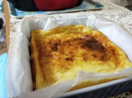 トースター チーズケーキ チーズ無し 水切りヨーグルト アウトドア