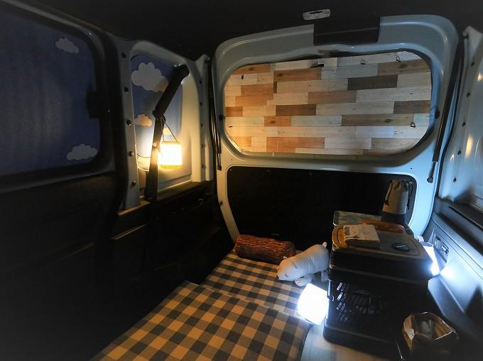 N-VAN 車中泊 カーペット 自作 マット フロア シート 低反発 ニトリ