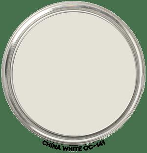 China White OC-141 by Benjamin Moore Paint Blob