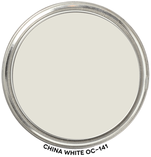 China White OC-141 by Benjamin Moore Paint Blob