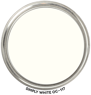 Simply White OC-117 by Benjamin Moore