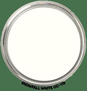 Snowfall-White-OC-118 by Benjamin Moore
