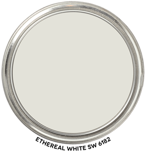 Ethereal White 6182 by Sherwin Williams