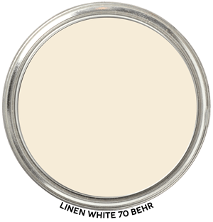 Linen White 70 by Behr Paint Blob