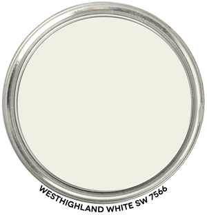 Westhighland White 7566 by Sherwin-Williams Paint Blob