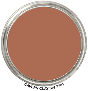 Cavern Clay 7701 by Sherwin-Williams Paint Blob