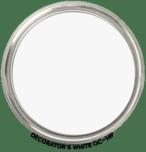Decorator's White OC-149 by Benjamin Moore Paint Blob