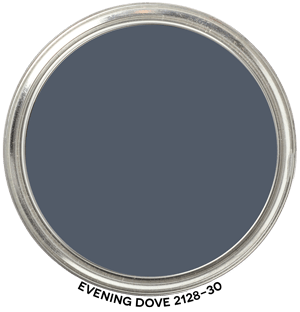 Evening Dove 2128-30 by Benjamin Moore Paint Blob