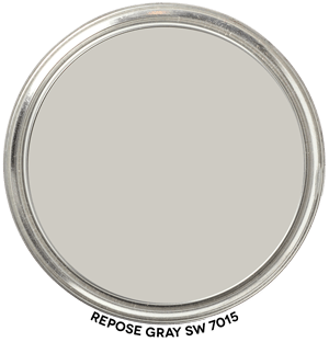 Repose Gray SW 7015 by Sherwin Williams Paint Blob