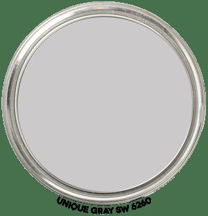 Paint Blob Unique-Gray-SW-6260