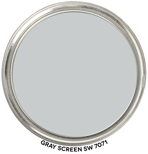 Paint Blob Gray-Screen-SW-7071