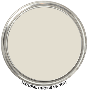 Paint Blob Natural Choice SW 7011 by Sherwin Williams