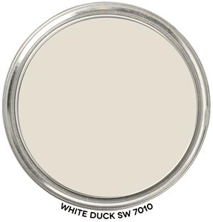 Paint Blob White-Duck-Sw-7010