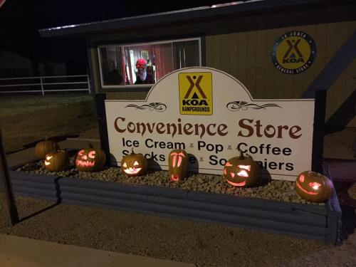 La Junta KOA welcomes you for a haunting Halloween