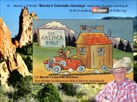 Links to many Colorado topics by Bernie's Colorado Journeys
