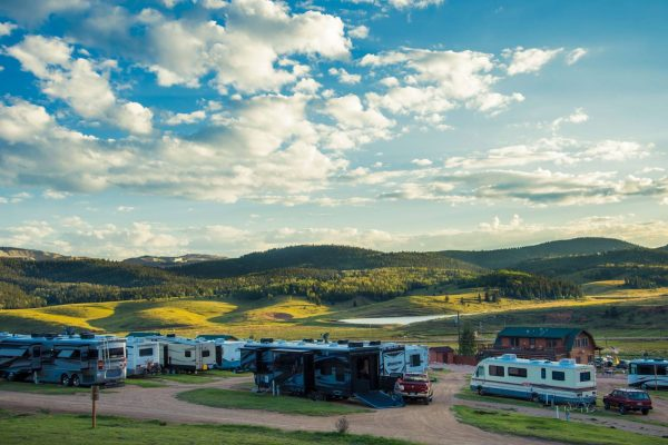 Cripple Creek KOA (Cripple Creek CO) RV camp sites