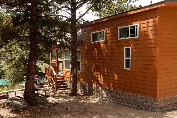 Jellystone Park of Estes (Estes Park CO) vacation rental cabin