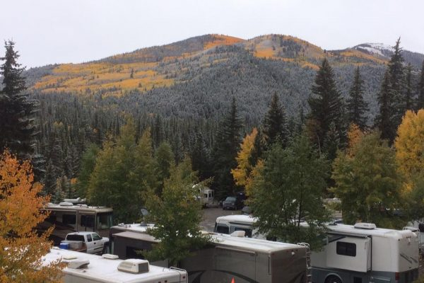 Highlander RV Campground (Lake City CO) offers RV sites and they have a fleet of Jeeps for rent