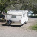 Park's rolling cabin (High Country RV Park, Naturita CO)