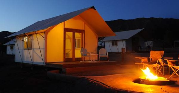 Royal Gorge Cabins offers glamping! (Canon City CO)