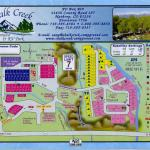 Upper and lower campgrounds, each with its own appeal at Chalk Creek RV Park & Campground near Buena Vista Colorado