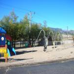Fun play area for kids at Estes Park KOA in Estes Park CO!