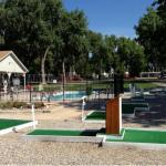 Mini golf and swimming pool (Loveland RV Resort ~ Loveland Colorado)