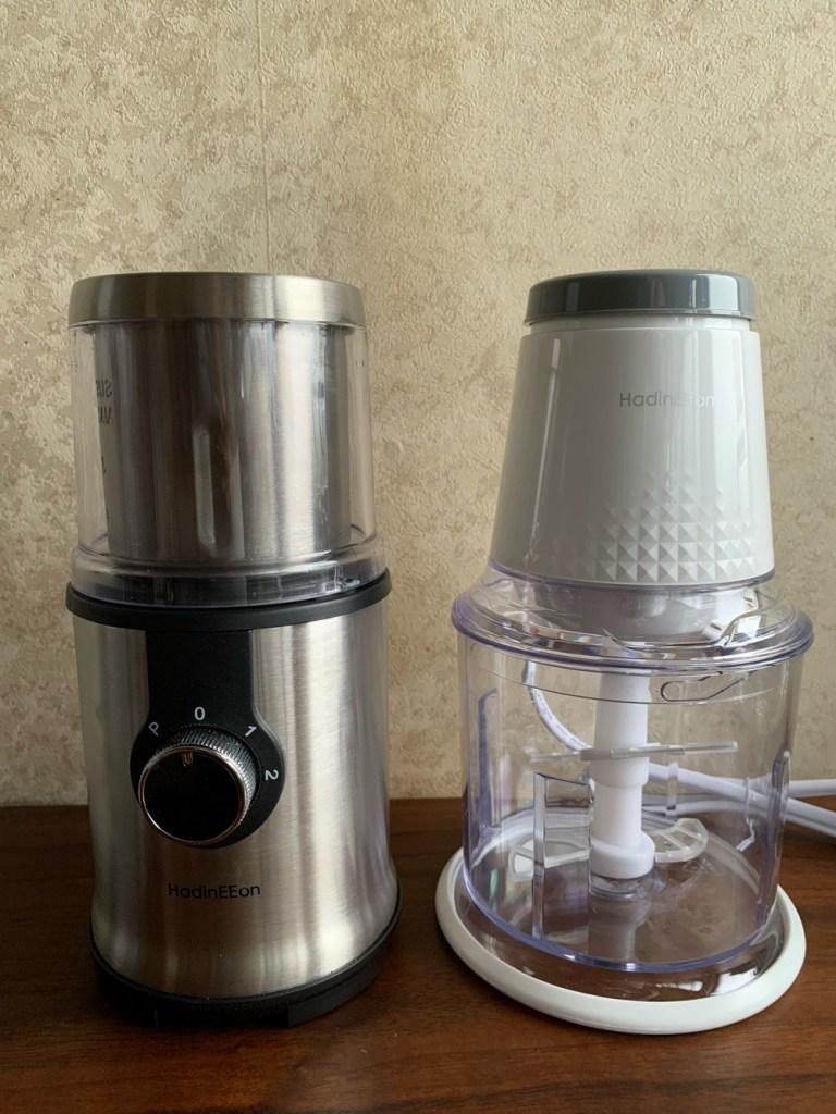 コーヒーミル&フードプロセッサー