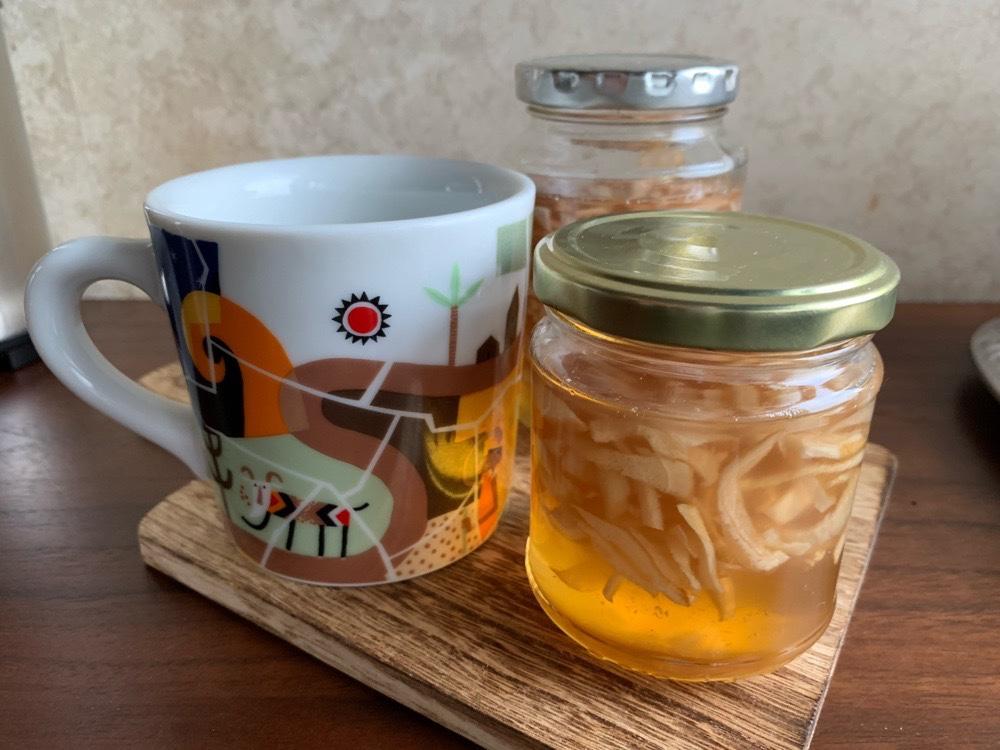 生姜ハチミツ