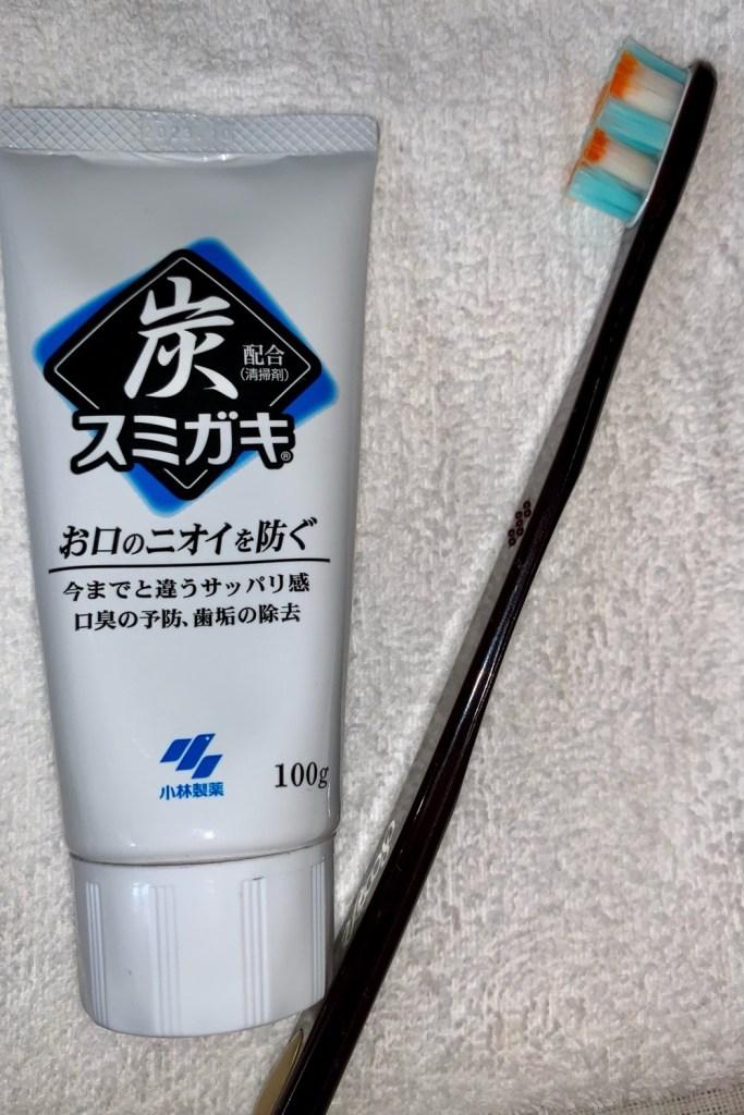 炭歯磨き粉