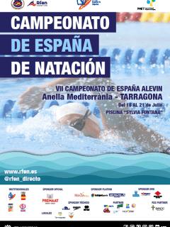 CTO. DE ESPAÑA DE NATACIÓN ALEVÍN