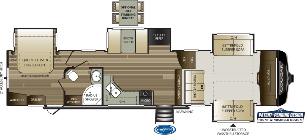We carry only the best 5th wheel trailers for sale and are located near the areas of spartanburg sc,. Best 2 Bedroom 5th Wheel Floor Plans September 2021