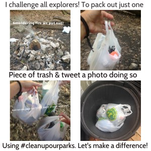 trash #cleanupourparks