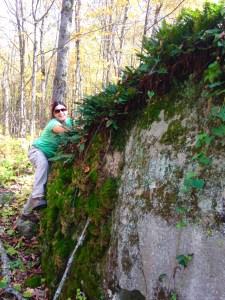 and climb a rock! lol