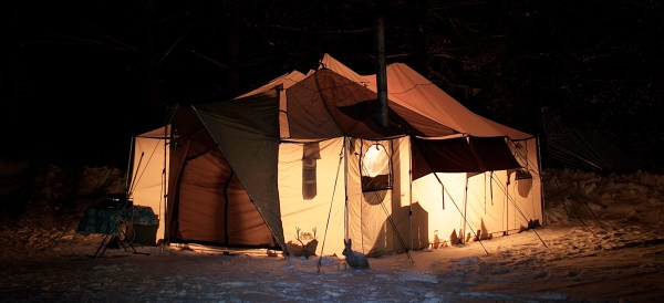 terrys tent outside