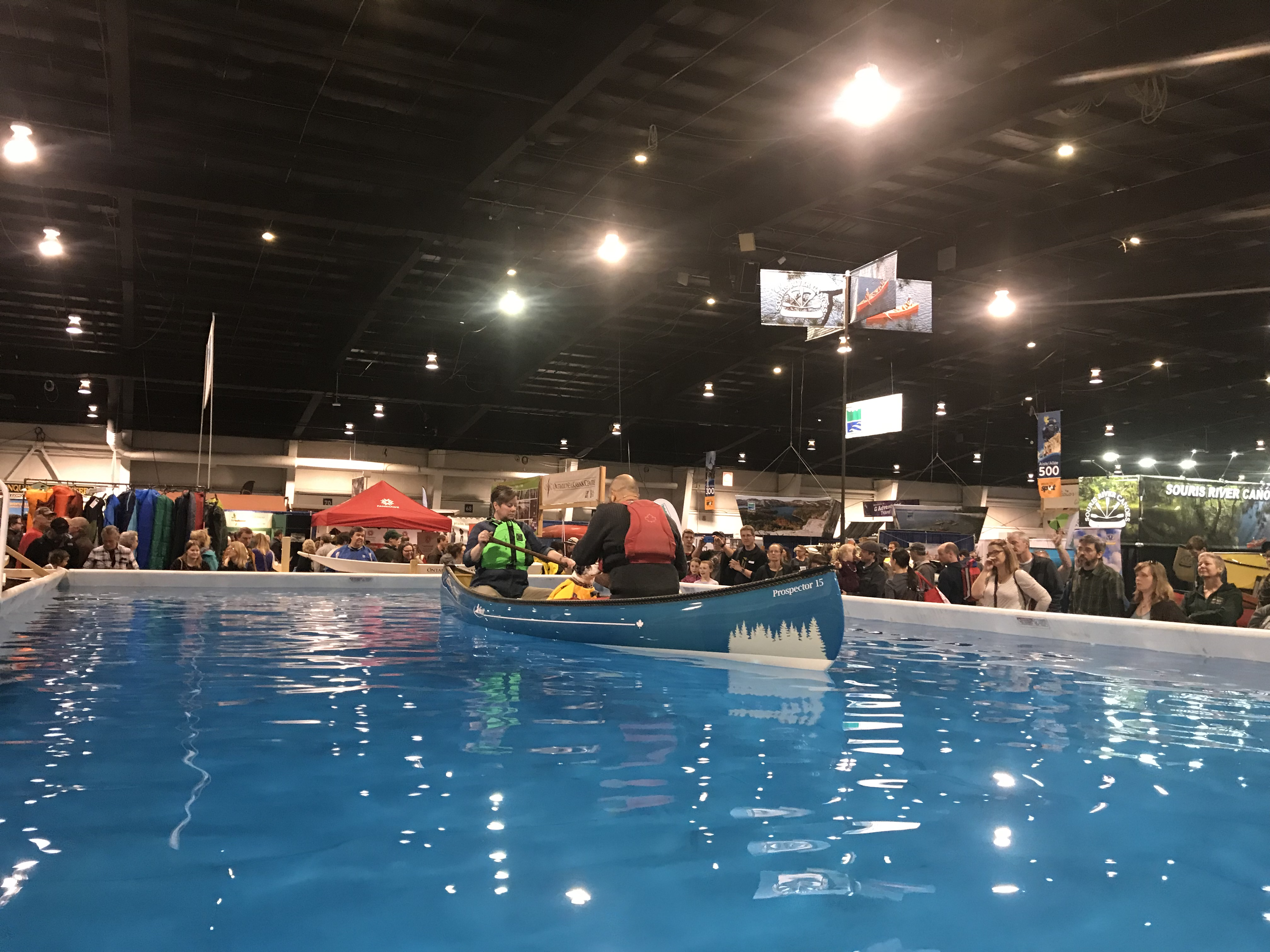 The outdoor adventure show 2018 toronto day 2 of 2 for Pool show toronto 2018