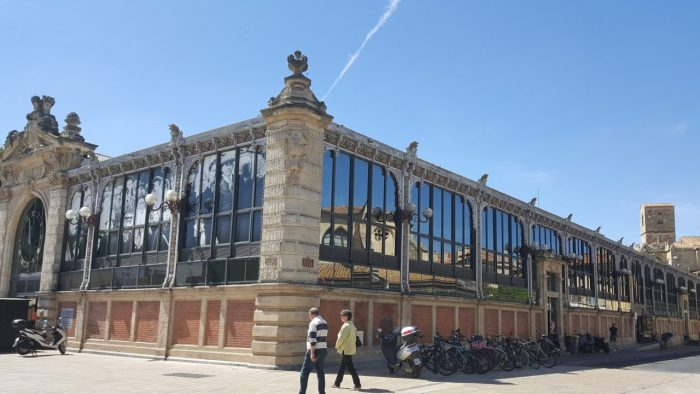 Markthalle in Narbonne