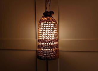 Praktische Lampe für innen und außen im Wohnmobil