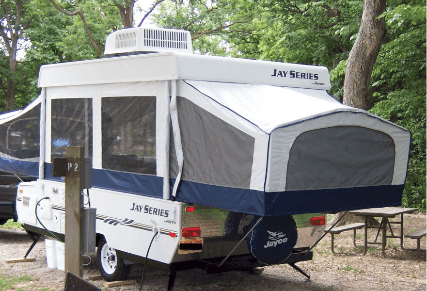 Are pop up campers waterproof ? - Campergrid