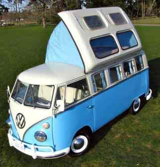 Camper Van Design For VW Bus029