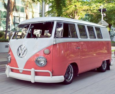 Camper Van Design For VW Bus106