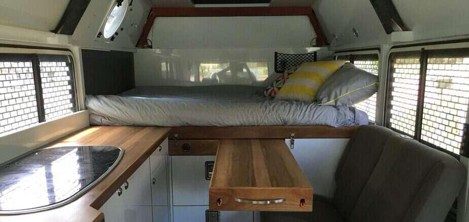 55 Amazing Interior Design Ideas For Camper Van - camperism