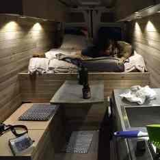 Interior Design For Camper Van44