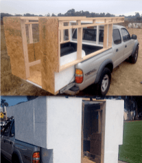 Mobile Rik Built A Homemade DIY Truck Camper09